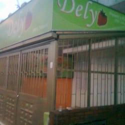 Dely en Bogotá