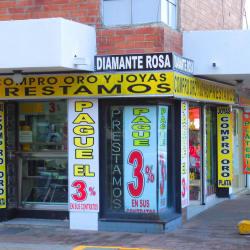 Diamante Rosa en Bogotá