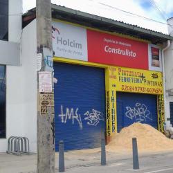 Depósito de Materiales Construlisto en Bogotá