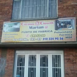 Cosina y Closeth Marian@ en Bogotá