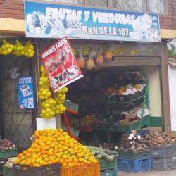 Frutas y Verduras M&H de las 107 en Bogotá