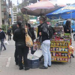 Carrito de Dulces Carrera 11 en Bogotá