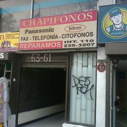 Chapifonos en Bogotá