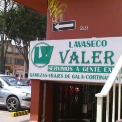 Lavaseco Valer en Bogotá