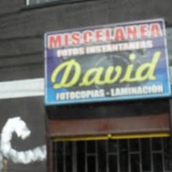 Miscelánea David en Bogotá