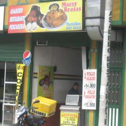 Macsy Brasas en Bogotá