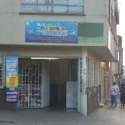 Acuarela Calle 14  en Bogotá