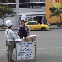 Obleas- Estación Banderas en Bogotá