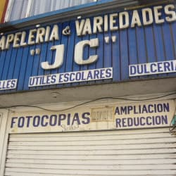 "Papelería & Variedades ""J C"" en Bogotá"