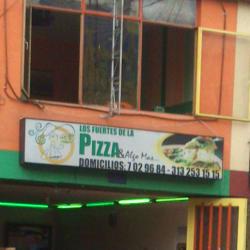 Los fuertes De La Pizza en Bogotá