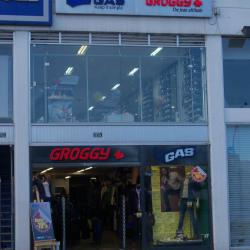 Outlet Gas y Groggy en Bogotá