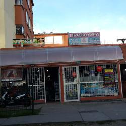 Tipografía Avisos Sellos en Bogotá