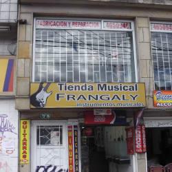 Tienda Musical Frangaly en Bogotá