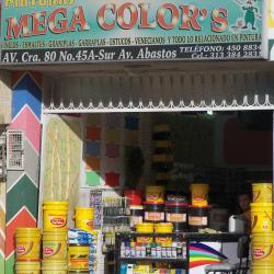Pinturas Megacolor en Bogotá