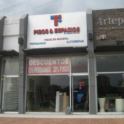 Pisos & Espacios Floor Tech en Bogotá