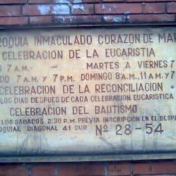 Parroquia Inmaculado Corazón De Maria en Bogotá
