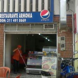 Restaurante Armonía en Bogotá