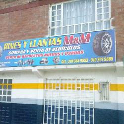 Rines y Llantas M&M en Bogotá