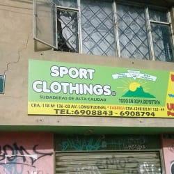 Ropa Deportiva Sport Clothings en Bogotá