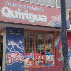 Frutería & Heladería Quirigua  en Bogotá