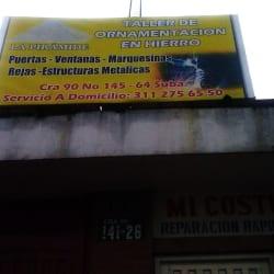 Taller de Ornamentación en Hierro La Pirámide en Bogotá