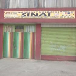 Maderas y Molduras Sinai en Bogotá