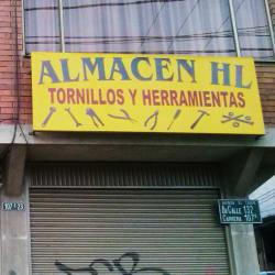 Almacén HL Tornillos y Herramientas en Bogotá
