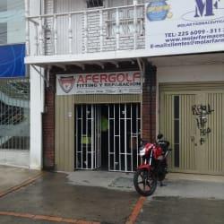 Afergolf en Bogotá