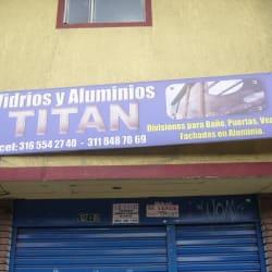 Vidrios y Aluminios Titan en Bogotá