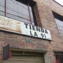 Tienda La 91 en Bogotá