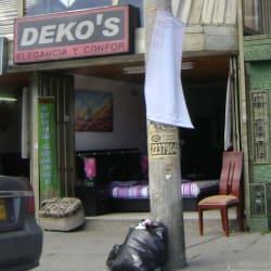 Deko's Elegancia y Confor en Bogotá