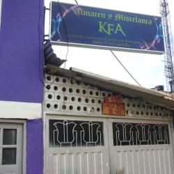 Almacén y Miscelánea KFA en Bogotá