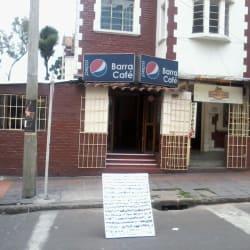 Barra café en Bogotá