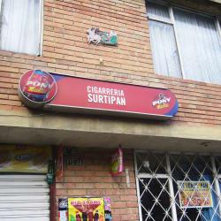 Cigarrería Surtipan en Bogotá