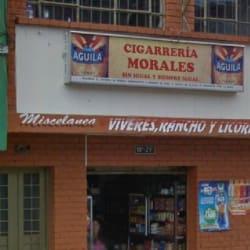 Cigarrería Morales en Bogotá