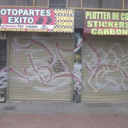 Moto Parte Éxito en Bogotá