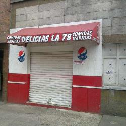 Delicias La 78 en Bogotá