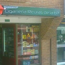 Cigarrería Ricuras de la 67 en Bogotá