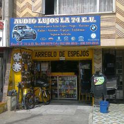 Audio Lujos LA 74 E.U. en Bogotá