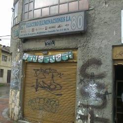 Electroiluminaciones La 80 en Bogotá