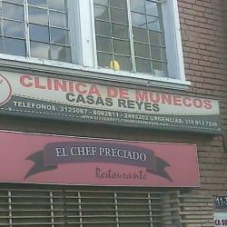 Clínica de Muñecos Casas Reyes en Bogotá