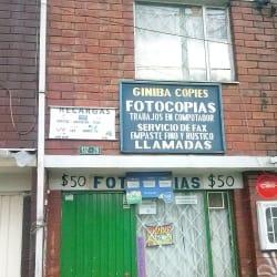 Fotocopias Giniba Copies en Bogotá