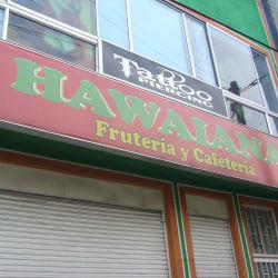 Frutería y Cafetería Hawaiana en Bogotá