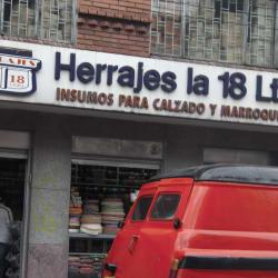 Herrajes La 18 Ltda. en Bogotá