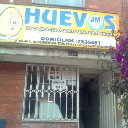 Huevos JM en Bogotá