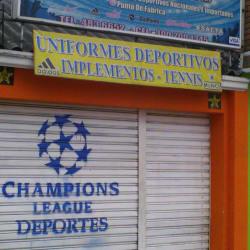 Champions League Deportes en Bogotá