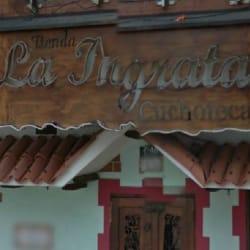 Tienda La Ingrata en Bogotá
