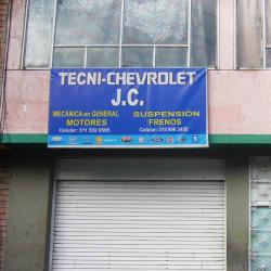 Tecni Chevrolet J.C. en Bogotá