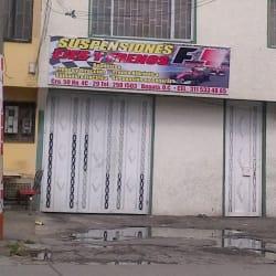 Suspensiones Ejes y Frenos F1 en Bogotá