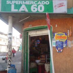 Supermercado La 60 en Bogotá